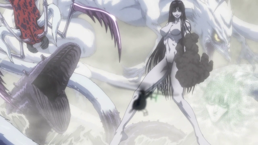 You know it's the end of the world when a giant, pale naked woman shows up.