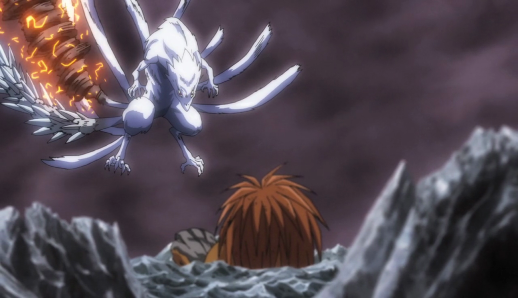 It's like each one of Hakumen's tails is a Tessaiga upgrade.