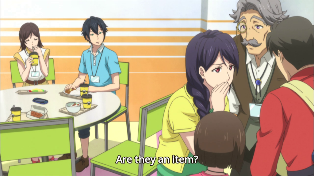 To be fair, she DID just pick a grain of rice off Itsuki's cheek and eat it. You know DAMN WELL what you did.