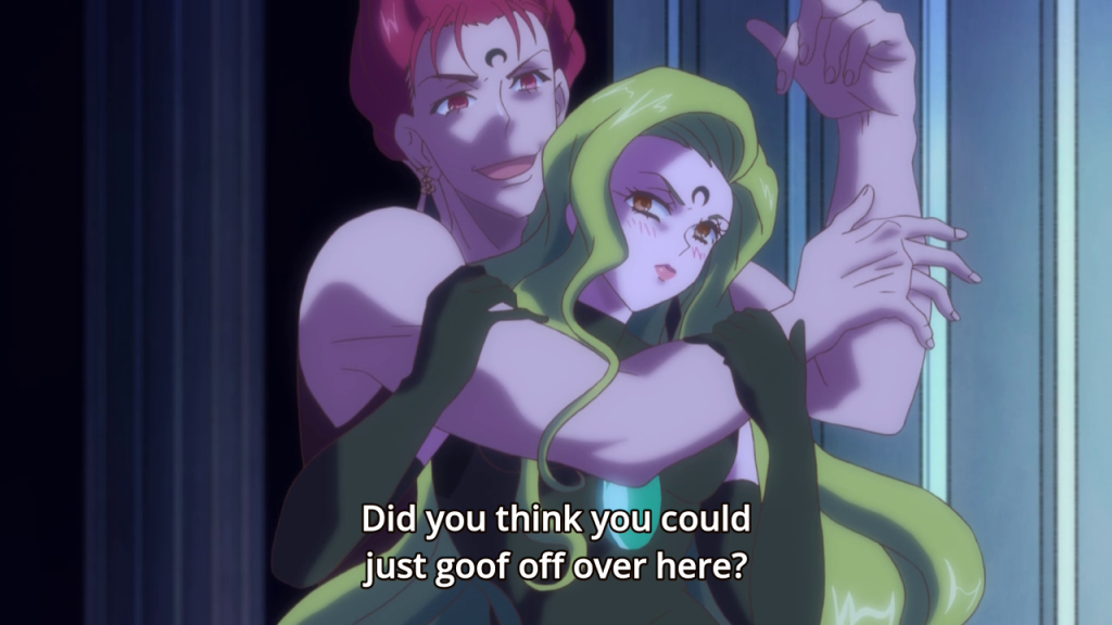 This and the fact Rubeus outlives her in this episode is hilarious if you're familiar with the 90s anime version of events.