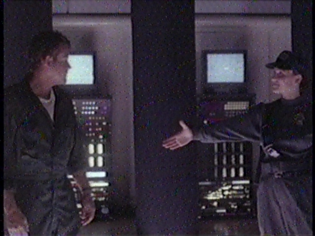 I know you're unhinged, a drunkard, a gambler, and touch yourself to holograms, but... you're hired!