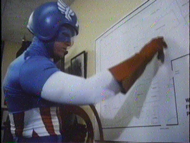 Because even Captain America can get lost.  Remember kids, maps are your friend!