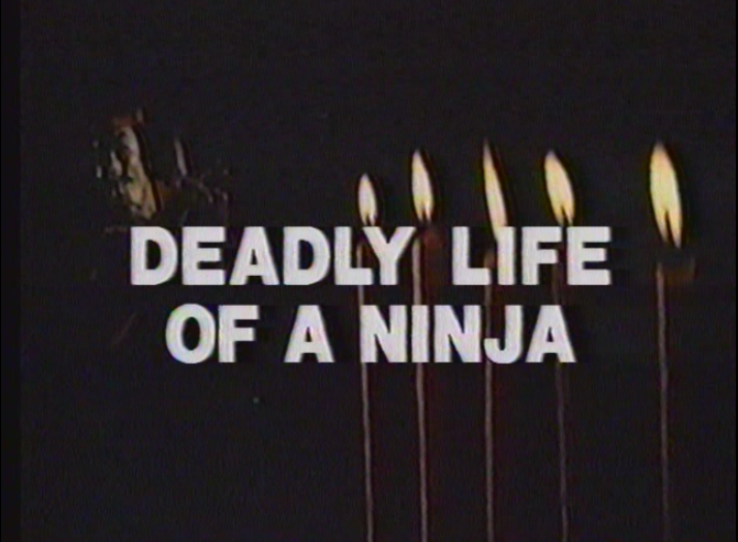 The movie misleads you immediately by making you think it's about one ninja.